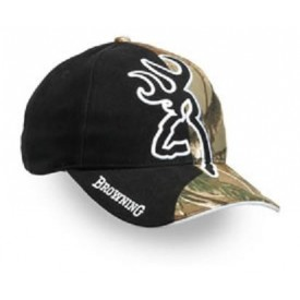Browning czapka Big Buckmark and Camo Cap, Realtree AP/Black