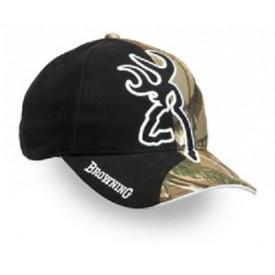 Browning czapka Big Buckmark and Camo Cap, Realtree AP/Black