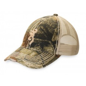 BROWNING Czapka Bozeman Mesh Back Camo Cap - Mossy Oak Break-Up Infinity