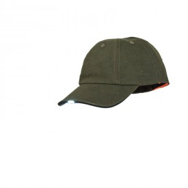 SKOGEN czapka dwustronna + sygnałówka + lampka LED