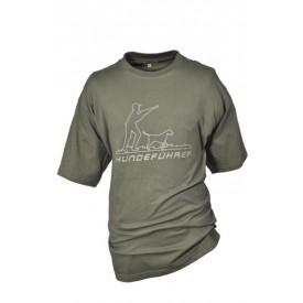 HUBERTUS Koszulka T-SHIRT z nadrukiem myśliwskim