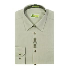 SKOGEN Koszula męska w stylu myśliwskim z haflem