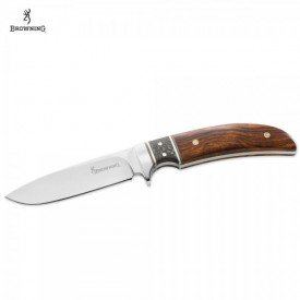 BROWNING Nóż Woods Runner Desert Ironwood Fix