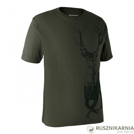 Deerhunter T-SHIRT Koszulka z krótkim rękawem z nadrukiem Jelenia byka