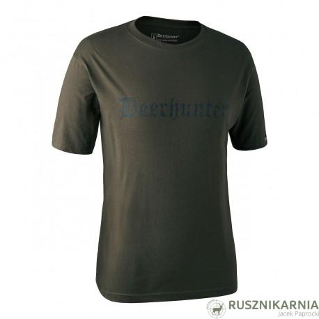 Deerhunter T-shirt Koszulka z krótkim rękawem z logo producenta