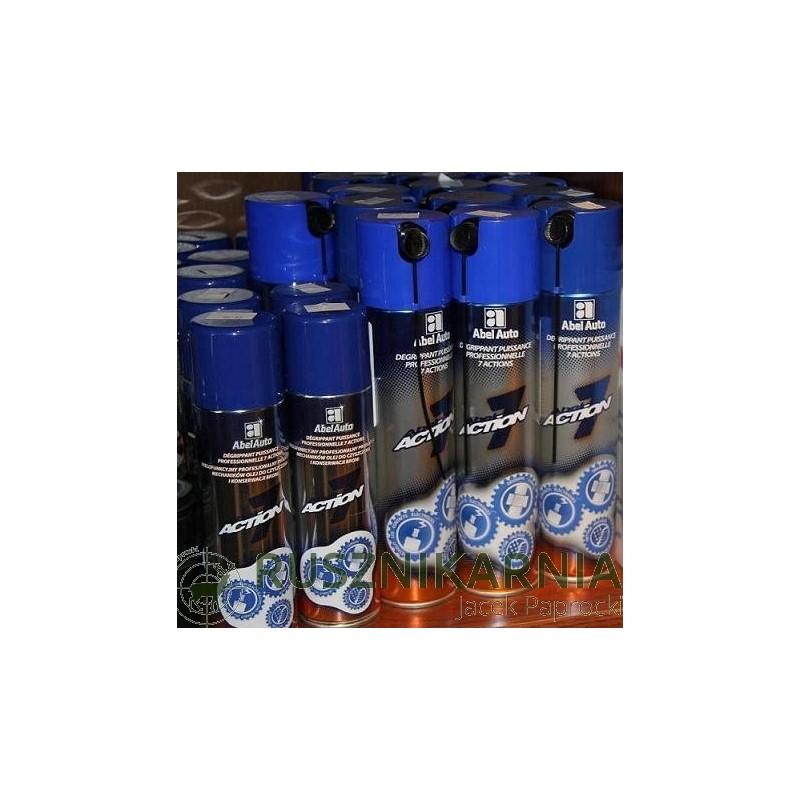ACTION 7 Olej do czyszczenia i konserwacji broni 250ml 400ml