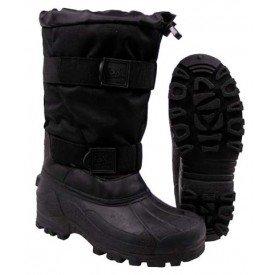 Ocieplane buty śniegowce niemieckiej firmy Fox - czarne