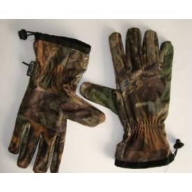 PINEWOOD Funkcjonalne 5 palcowe rękawice myśliwskie - kamuflaż