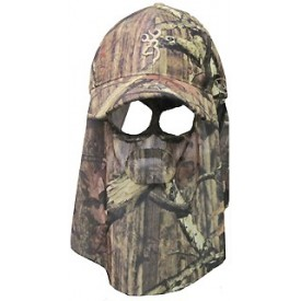 BROWNING CZAPKA FACE MASK QUIK CAMO MOINF / KAMUFLAŻ